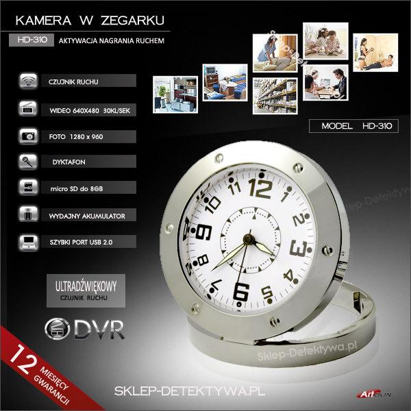 kamera w zegarku
